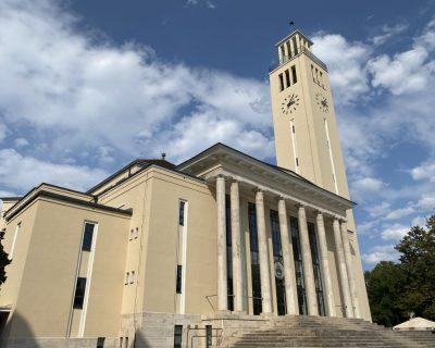 Egyetemi Templom felújítása