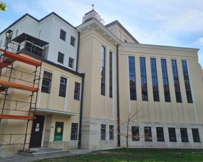 Egyetemi Templom épületének felújítása